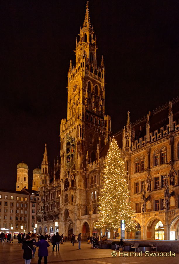 Advent in Münchens Innenstadt 29.11.2020