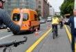 Radverkehr frei auf Münchens erster Pop-up Bike-Lane