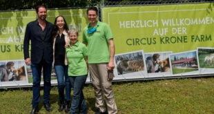 Circus Krone Farm in Weßling öffnet erstmals die Tore für Besucher
