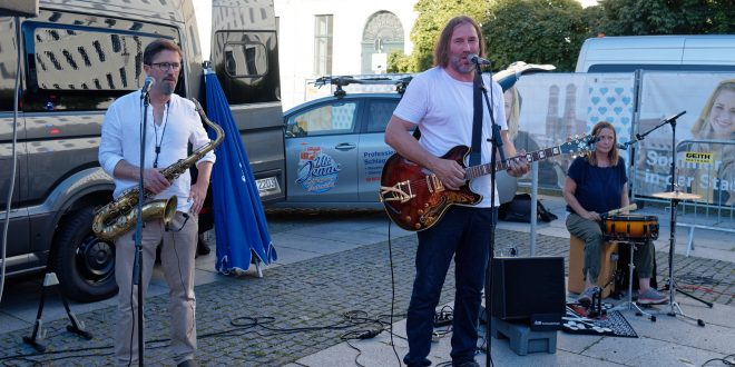 Roland Hefter - Sommer in der Stadt - Wittelsbacherplatz