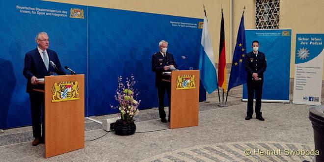 Vorstellung Bayerische Polizeiliche Kriminalstatistik 2020
