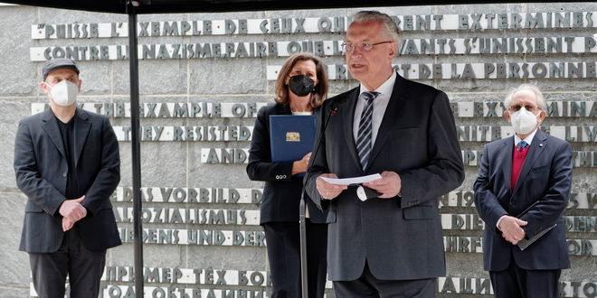 Gedenkfeier anlässlich des 76. Jahrestages der Befreiung des KZ Dachau