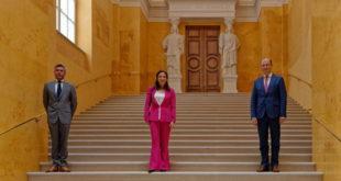 """Eröffnung der """"Gelben Treppe"""" in der Residenz München"""