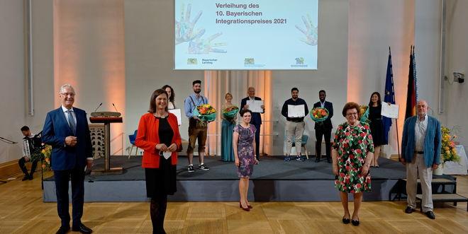 Verleihung Bayerischer Integrationspreis 2021