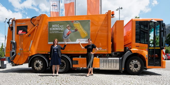 "AWM-Pressetermin: Kampagne ""Weg mit Einweg"""
