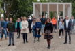 Eroeffnung Muster-Pavillon aus Recyclingbeton in Bayernkaserne