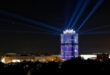 IAA 2021 - BMW - Lichtinszenierung auf die BMW Zentrale